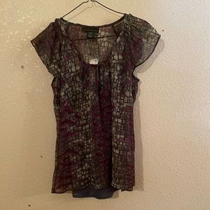 Woman's two piece blouse